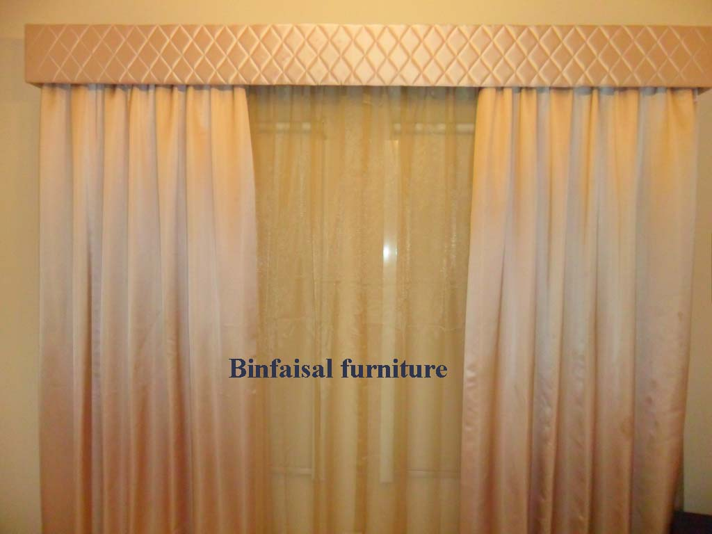 Two Way Closing Curtain With Diamond Pelmet BoxModern Style